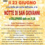 Notte di San Giovanni 2015